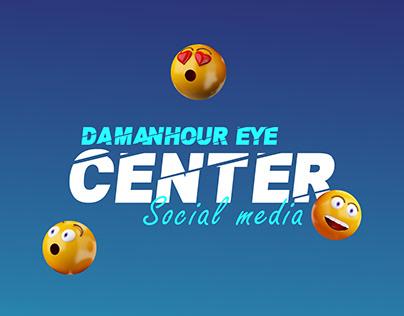 Damanhour Eye center social media
