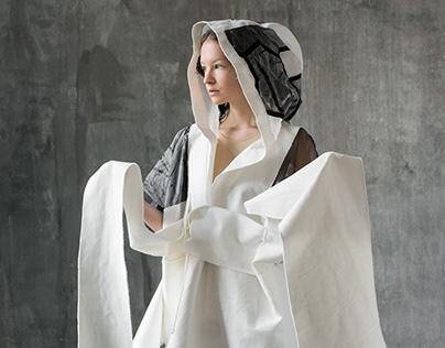 Bauhaus inspired object dresses