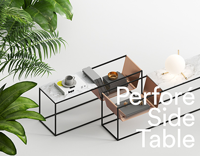 Perforé Side Table