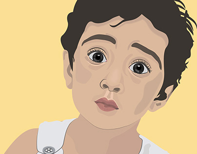 Portrait Illustration MAYRA