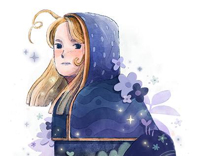 Flower Shepherdess