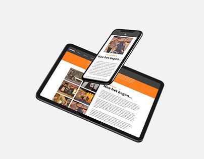 Drama group Wordpress website