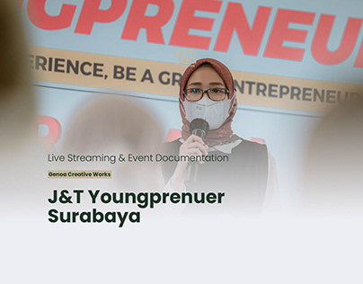 Live Streaming & Event Documentation J&T Youngpreneur