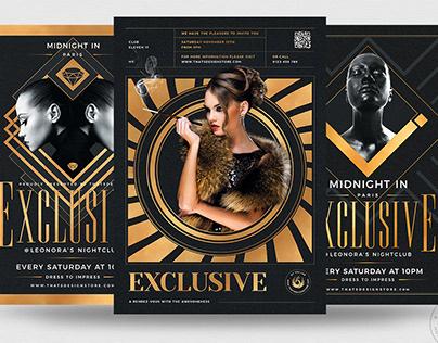 Exclusive Party Flyer Bundle