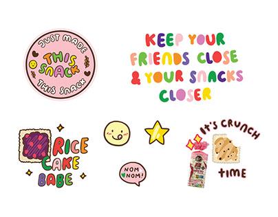 Smartbite Snacks, Canada - GIF Stickers