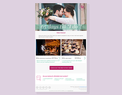 Newsletters layouts for LadyMarry.