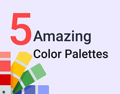 Color Palettes Amazing