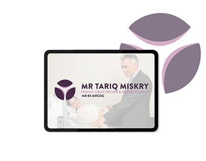 logo design Mr tariq miskry