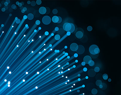 Free Download - Vector - Fibre Optic Background Blue