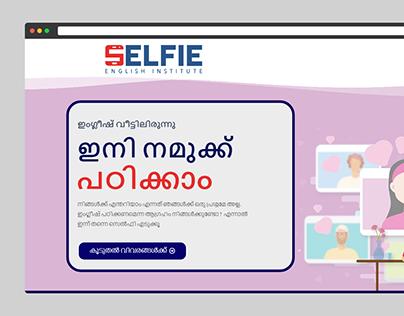 Website Designing Project Selfie Institute