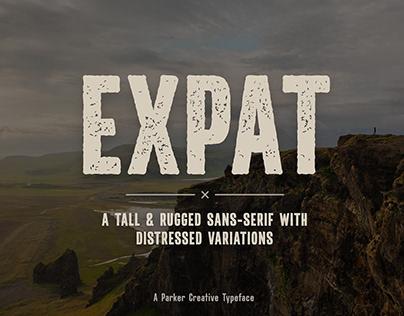 Expat - Handmade Rugged Sans-Serif