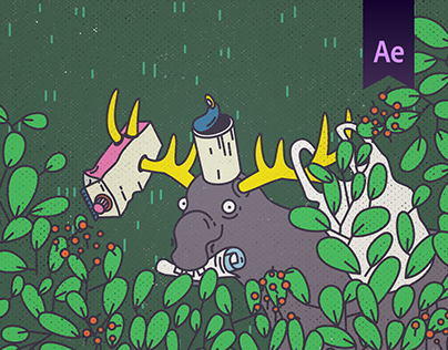 Animated Environmental Ad