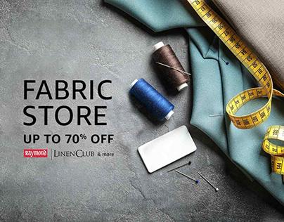 Amazon India Fabric Store Campaign