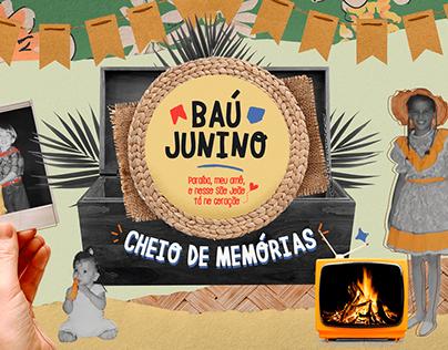 Baú Junino - TV Cabo Branco