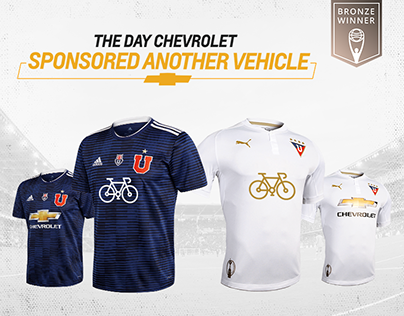 The day Chevrolet sponsored another vehicle