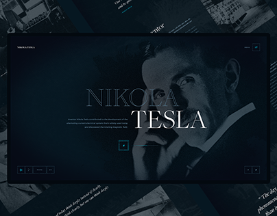 Nikola Tesla concept