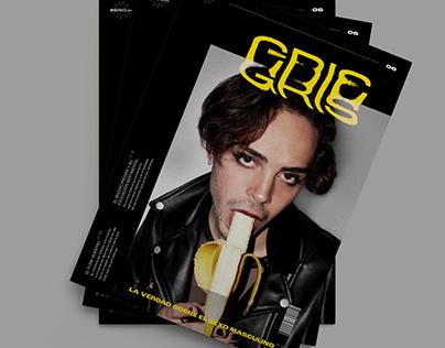 Gris Magazine | Editorial Design + Photography