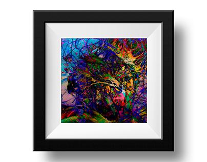 Abstract Art - CroöDeltkar-55