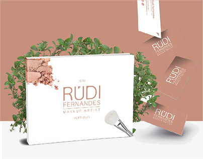 Brand Design, CV & Book | Makeup Artist