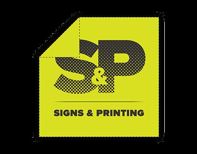 Branding (S&P printing shop)