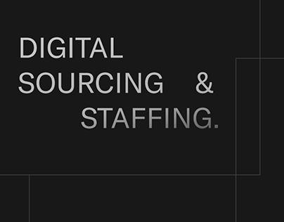 Digital Sourcing & Staffing
