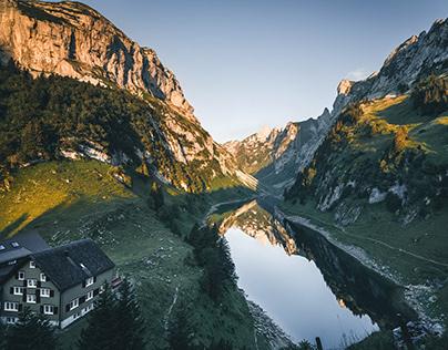 Food trails in Alpstein - Switzerland