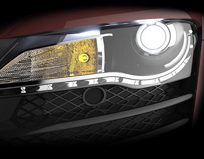 3D Modeling: Audi R8
