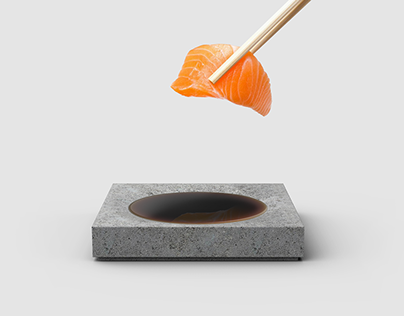 sauce dish / utensil rest