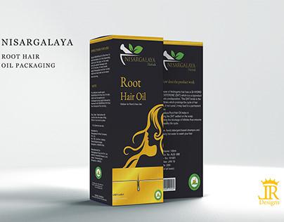 Re Branding and Re packaging of Nisargalaya Hair oil