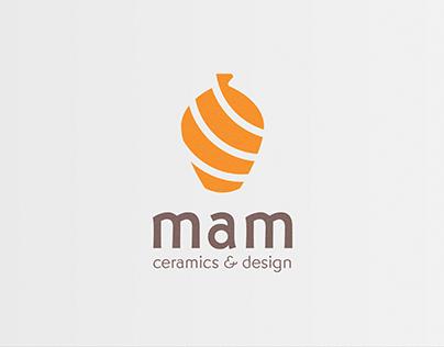 Mam Ceramics Logo&Branding Design
