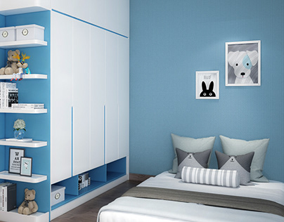 Thiết kế nội thất căn hộ The Botanica 68m2