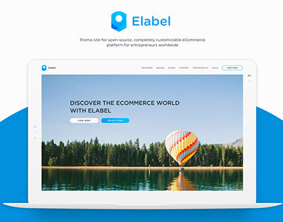 Promo Site for Elabel
