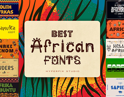 African Fonts Collection