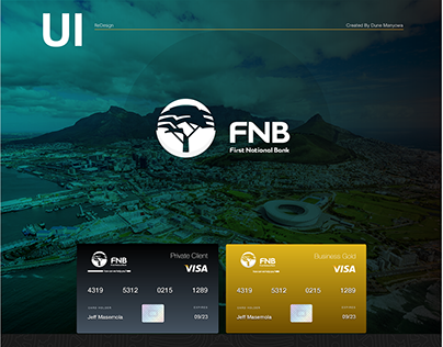 FNB Landing Page ReDesign