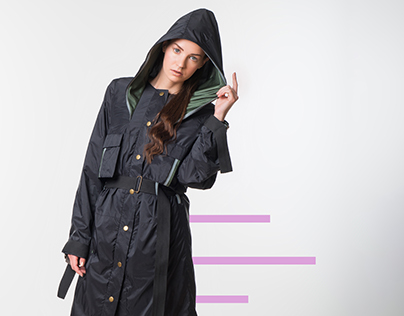 Military inspired capsule collection's lookbook