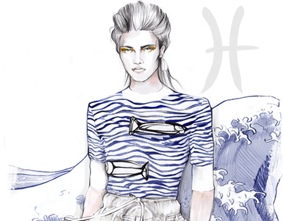Fashion horoscope for instagram @elle_russia