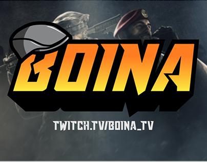 Twitch Stream Overlay - Boina_TV