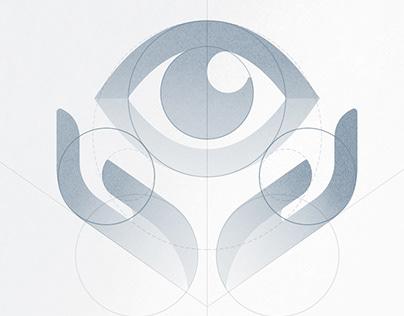 logo design Kazakh Eye Research Institute
