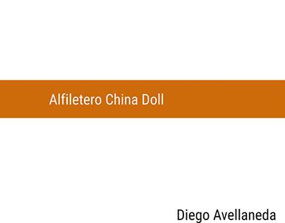 Alfiletero China Doll