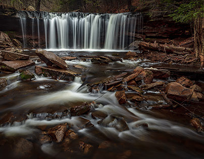 Ricketts Glen Waterfalls