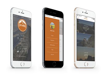 Explorers App