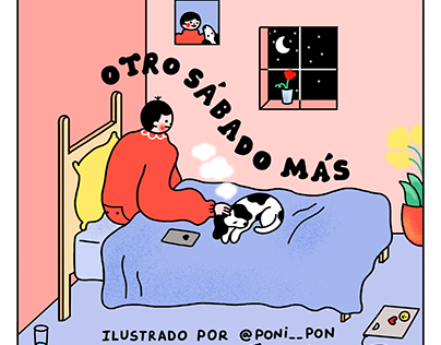 CÓMIC: Just another saturday