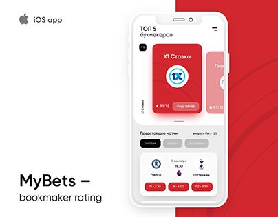 MyBets - bookmaker rating
