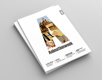 Animationweek - Magazine template