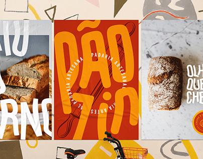 Pãozin   Identidade Visual