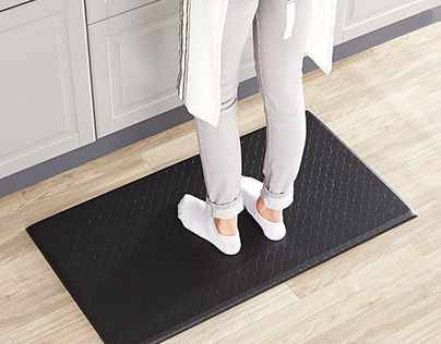 Why Use Anti-Fatigue Mats? — Infographic