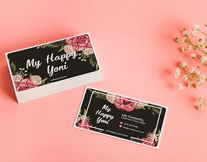 My Happy Yoni Branding and Packaging