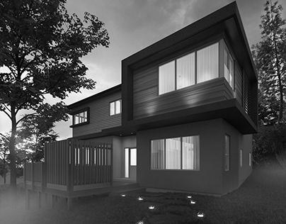 Exterior, interior project