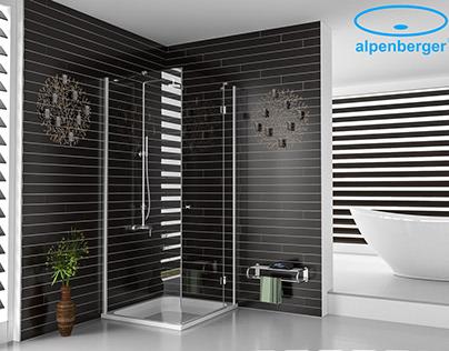 Alpenberger - Shower Bathroom