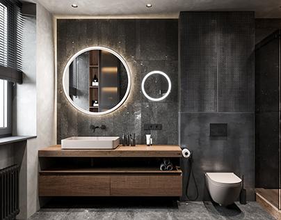 brutal bathroom